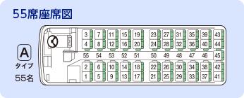 55席座席図